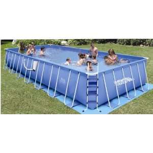 Rectangular Frame Summer Escapes Swimming Pool: Toys & Games