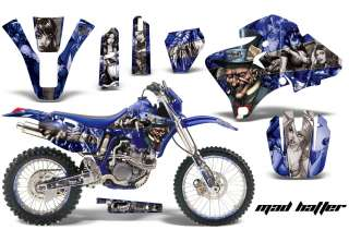 DIRT BIKE BACKGROUND GRAPHIC KIT YAMAHA WR 250F 426F 400F 98 02 MTUSS
